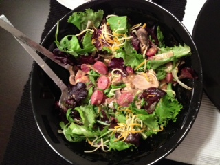 Salada de Cogumelos e Sementes Papoila