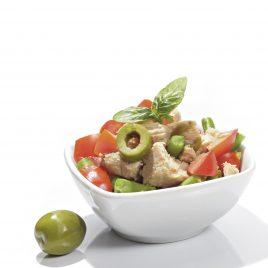Salada de Atum Mediterrânea
