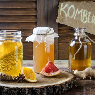 Os benefícios da Kombucha